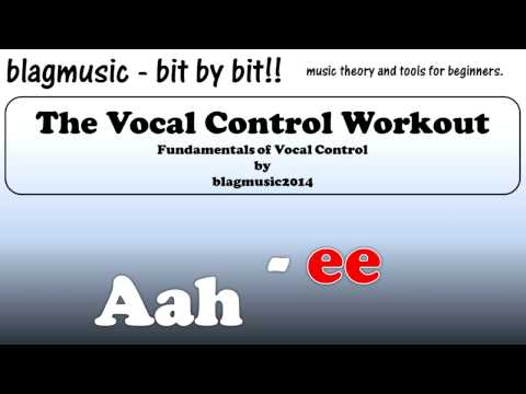 Singing Lessons Tool - Vocal Warm Up Exercise for Improving Pitch Control