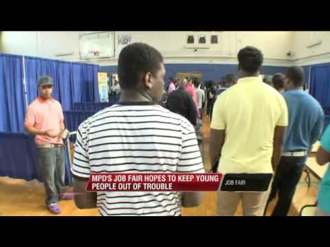 Hundreds Of Teens Line Up For Jobs In North Memphis