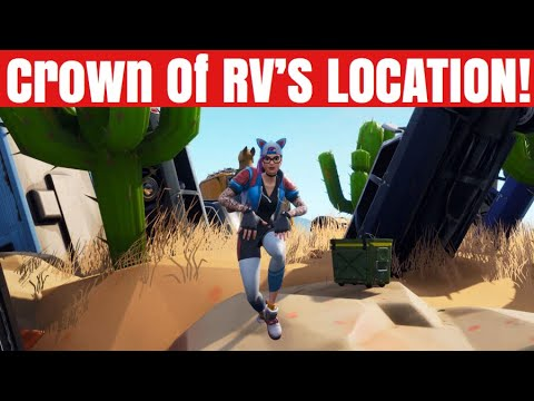 Fortnite Battle Royale Dance On Top Of A Crown Of Rv S Location