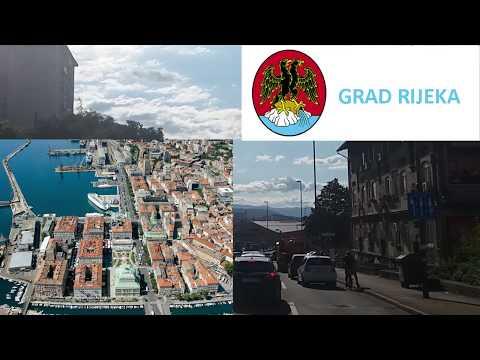 RIJEKA CITY IN CROATIA 2017