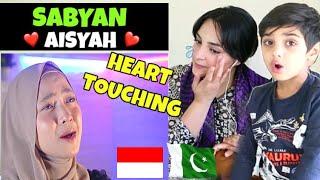 Download lagu Pakistani Boy Reacts To SABYAN - AISYAH ISTRI RASULULLAH | Indonesian Cover | Haider's World