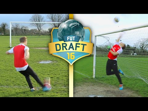 11 FOOTBALL CHALLENGES TO COMPLETE THE FIFA 16 FUT DRAFT