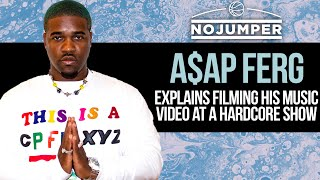 A$AP Ferg Explains Filming his Music Video at a Hardcore Show