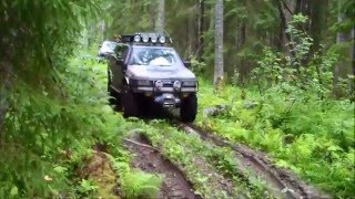 Opel Frontera A - Toyota Hilux OFF Road. Part 2.