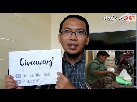 [UNDANGAN GIVEAWAY] Donat Feat FADLI (Anak Kecil Penjual Donat Viral) Di CFD Cijantung