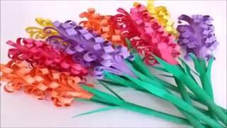 how to make paper hyacinths diy 5 min craft
