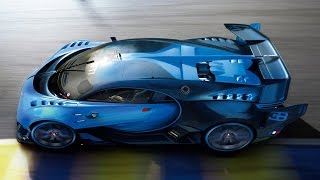 Making of the Bugatti Vision Gran Turismo