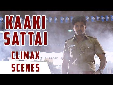 Kaaki Sattai - Climax Scene   Sivakarthikeyan   Anirudh   R. S. Durai Senthilkumar
