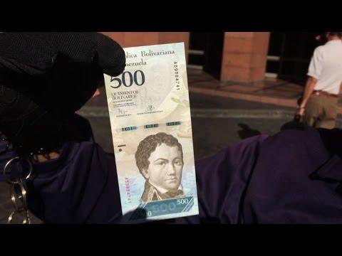Venezuela: de nouveaux billets mis en circulation