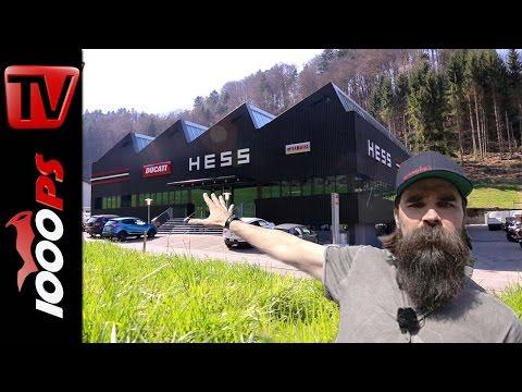 1000PS Betriebsprüfung - Hess Motorrad AG: Das Motorrad-Imperium. Unfassbar leiwand!