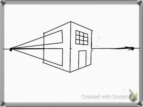 How To Draw Buildings In 2 Point Perspective