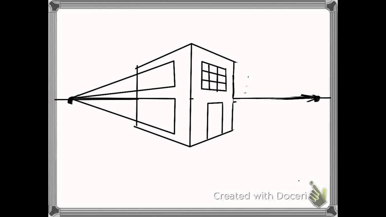 Perspective Drawings Of Buildings how to draw buildings in 2 point perspective - youtube