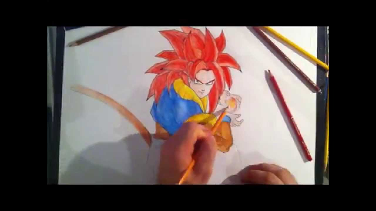 Dessin dragon ball z youtube - Dessin dragon couleur ...