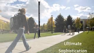 Solarmast SPIRIT - a Solar Powered Lighting Column