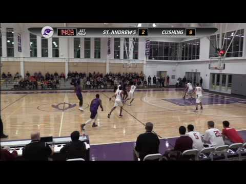 Cushing Academy - Varsity Boys Basketball vs. St. Andrews School