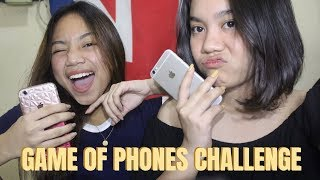 GAME OF PHONES CHALLENGE!! ft. my cyst   Just Bia