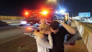 LANCE STEWART TOTALED HIS CAR...
