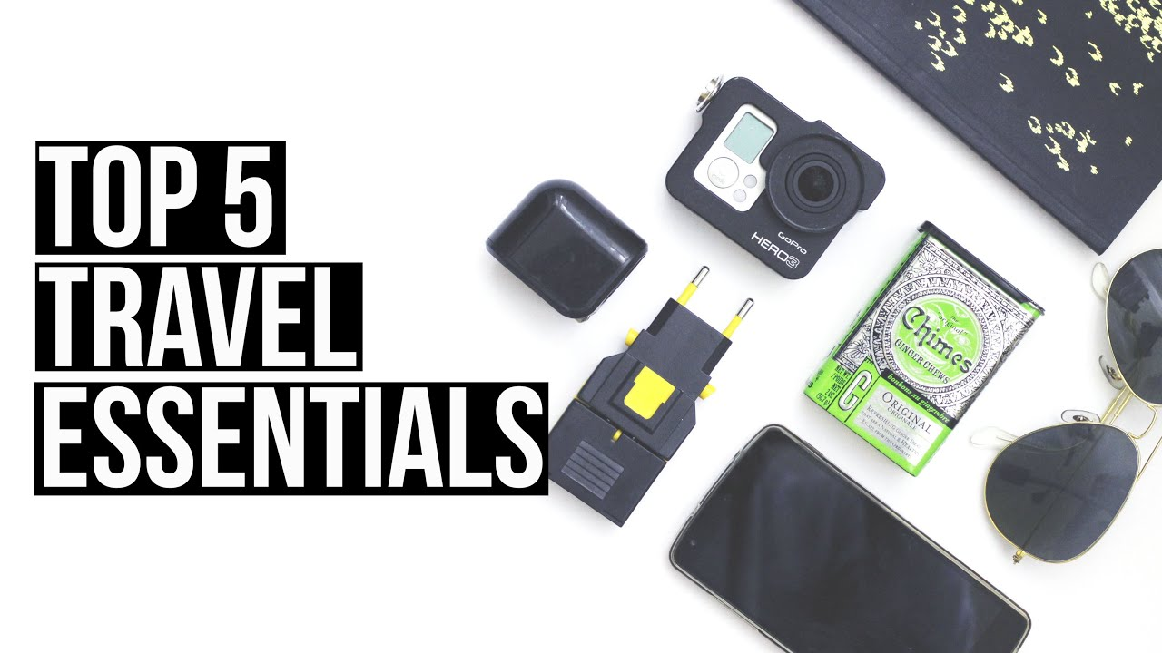 Top 5 travel essentials | Euro Palace Casino Blog