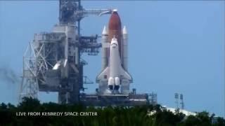 Uzay Mekiğinin Uzaya Kalkış Anı (4K)