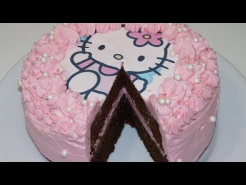 gateau danniversaire hello kitty cuisinerapide - Hello Kitty Anniversaire