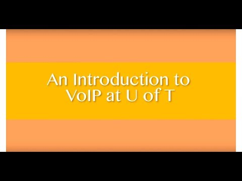 FAQS relating to Telecom Services at U of T, including VoIP