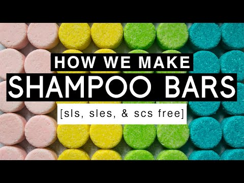 How We Make : SHAMPOO BARS [sls, sles, & scs free] | Royalty Soaps