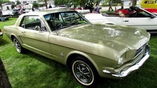 1965 Ford Mustang - Exterior Walkaround - 2013 Granby International, Quebec, Canada