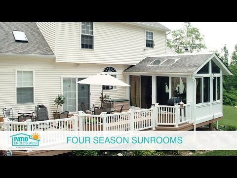 Enjoy the Outdoors Year Round with a Four Season Room