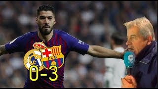 Real Madrid 0-3 Barcelona | Narración de Manolo Lama en Tiempo de Juego COPE
