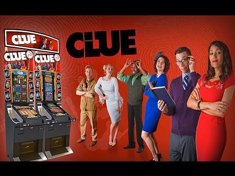 "Max Bet! - WMS - Clue 2014 *NEW* - First ""Live"" Look - Slot Machine Bonus - 동영상"