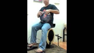 Bar-stool Bass Drum