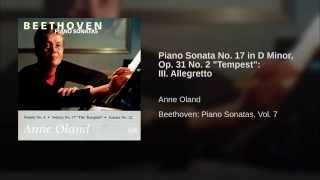 "Piano Sonata No. 17 in D Minor, Op. 31 No. 2 ""Tempest"": III. Allegretto"