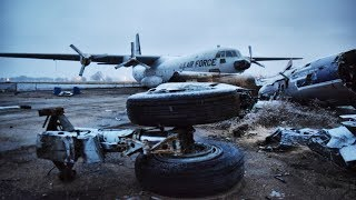 ABANDONED U.S AIR FORCE BASE (PLANES LEFT BEHIND!)