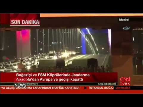 coup attempt underway in turkey gunfire heard in ankara