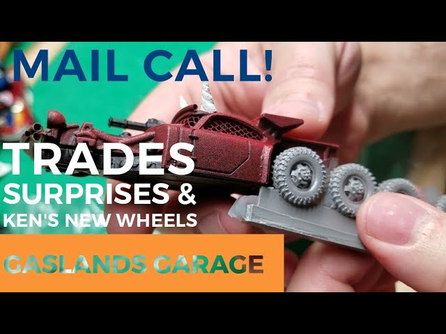Gaslands Garage: Mail Call - Ken's New Wheels and Other Goodies