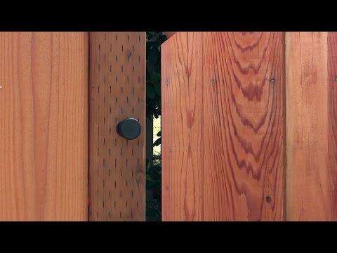 EZ Gate Latch - YouTube