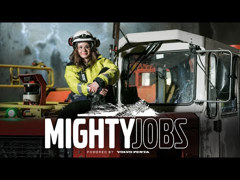 Volvo Penta - Mighty Jobs – Hi technology mining