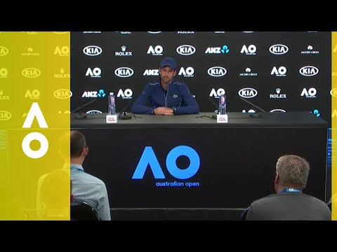 Novak Djokovic pre-tournament press conference | Australian Open 2018