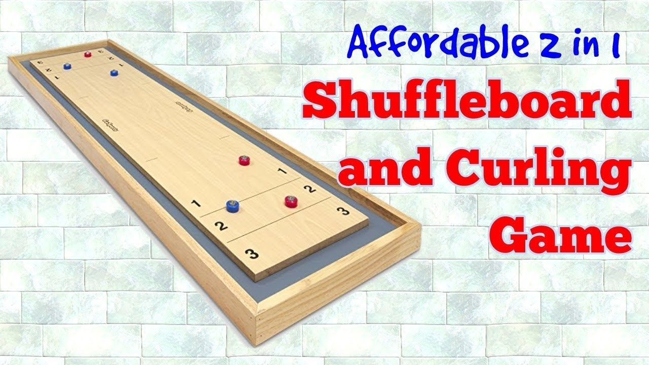 Play Shuffleboard And Curling At Home Without Breaking The Bank!