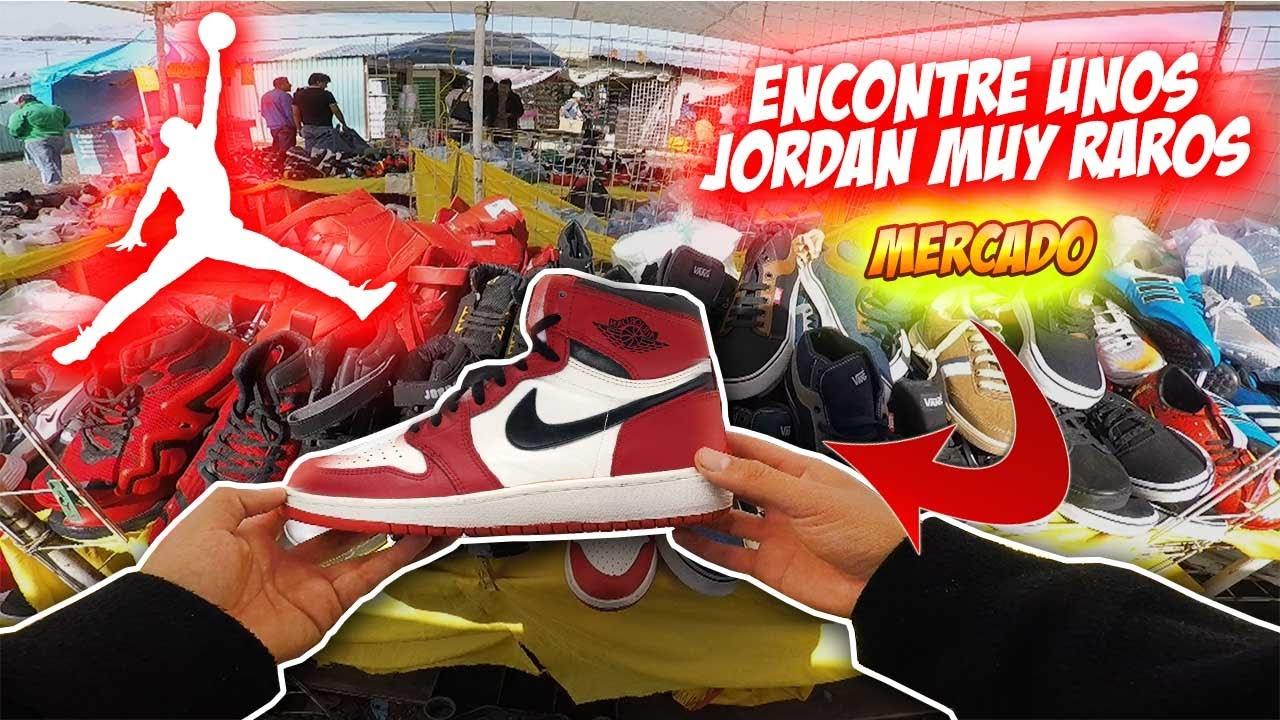 Encontré sneakers JORDAN originales en el mercado? MUY BARATO