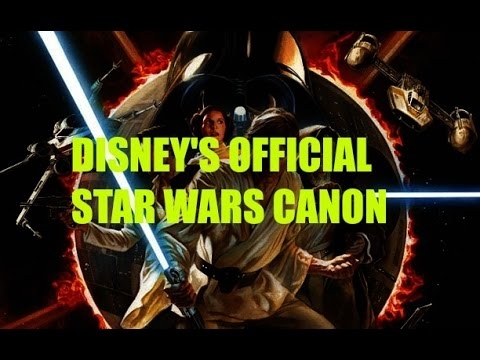 What is Canon in Star Wars? Disney
