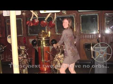 Real Ghosts caught on camera- The Queen Mary, Long Beach, CA