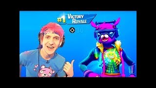 "NINJA USES 'NOUVEAU '""DJ BOP"" SKIN! FORTNITE GAMEPLAY HIGHLIGHTS"