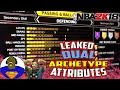NBA 2K18 DUAL ARCHETYPES / 100% CONFIRMED VIDEO PROOF - BEST PLAYER BUILD - HALL OF FAME BADGES