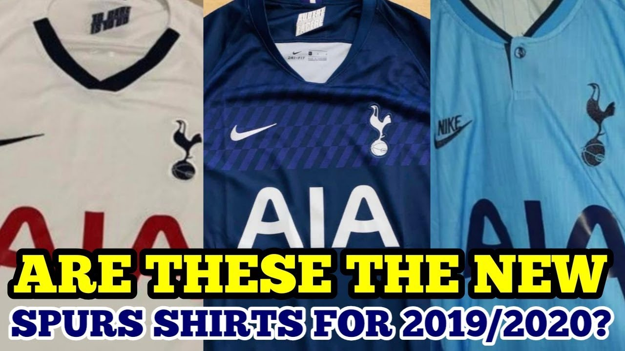 half off e0517 619dd ARE THESE THE NEW SPURS SHIRTS FOR 2019/2020? Home, Away & Third on Sale  NOW in Australia and Asia!