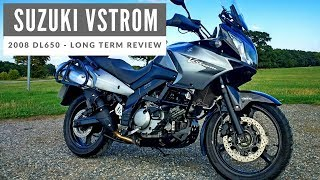 2008 Suzuki Vstrom DL650 Motorcycle - Long Term Owners Review of my Own Motorcycle