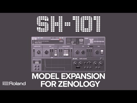 Introducing Roland SH-101 Model Expansion for ZENOLOGY Software Synthesizer