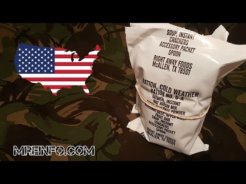 US RCW 6A (Ration Cold Weather)