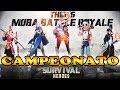 Casual do Campeonato de Survival Heroes