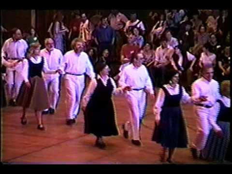 Country Dance Society-Boston English Country Dance Demo team at NEFFA 1994, 96